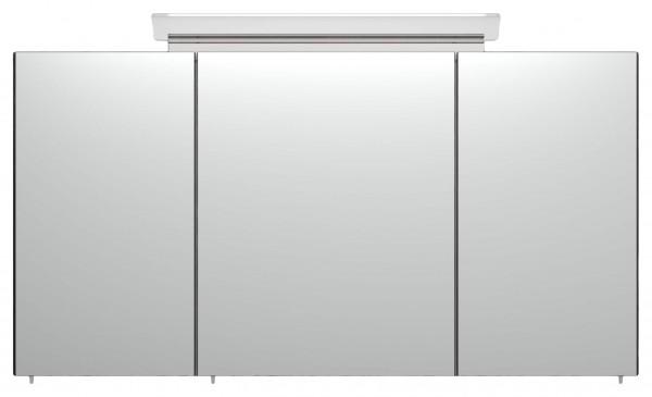 Bad Spiegelschrank 120 cm gemasert mit Beleuchtung