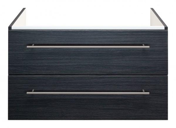 Waschtisch Unterschrank für Keramag Icon 75 cm anthrazit gemasert