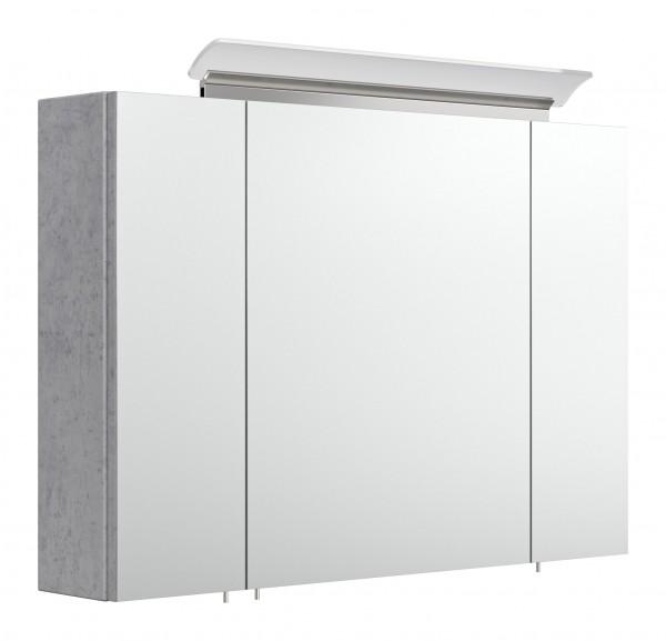 Spiegelschrank Badezimmer 90 cm betonoptik
