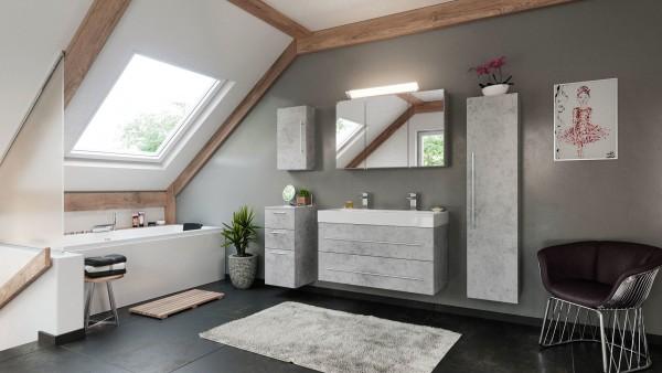 Badmöbel Komplettset 5 teilig beton