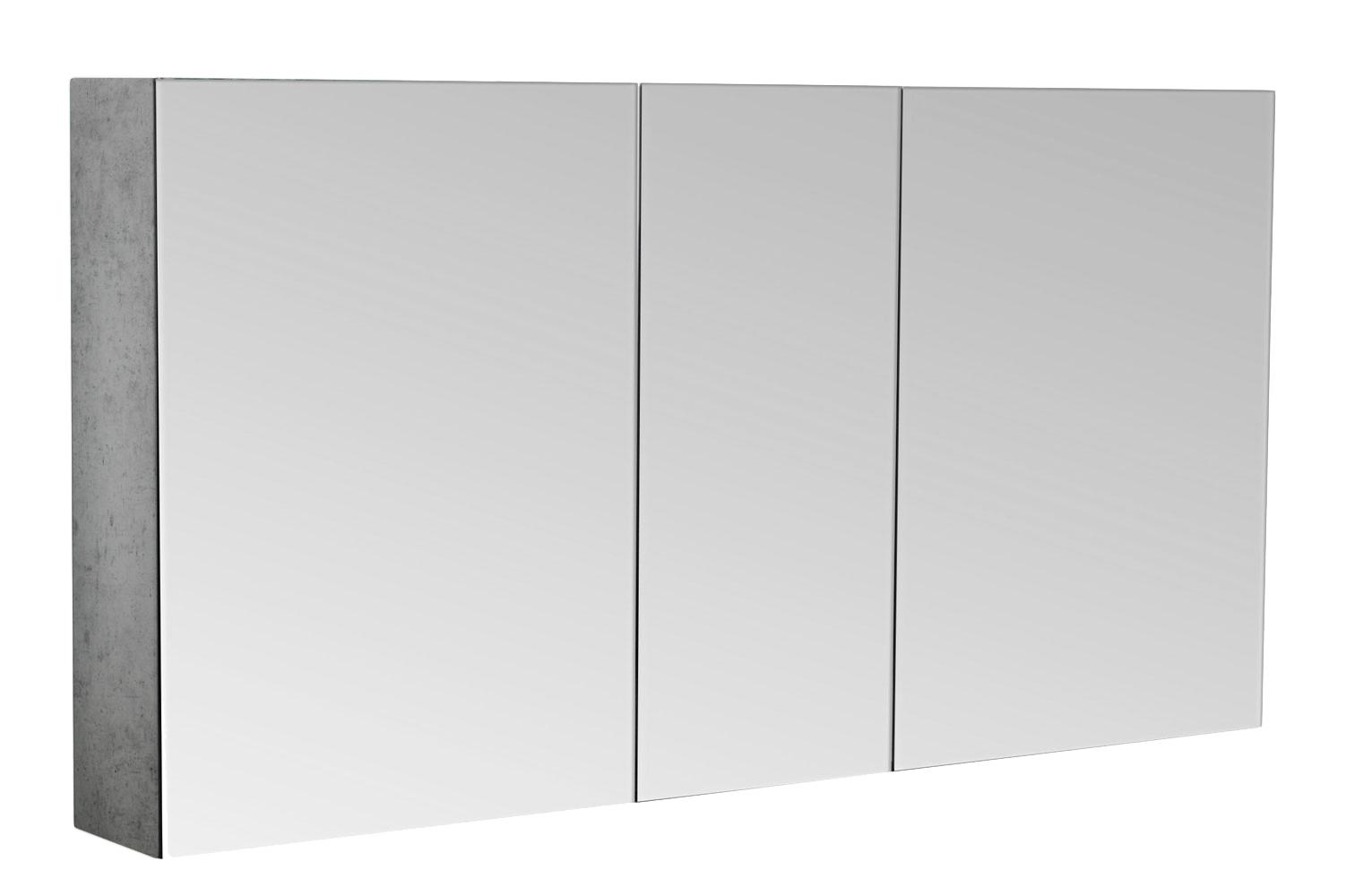 Bad Spiegelschrank 120 cm beton