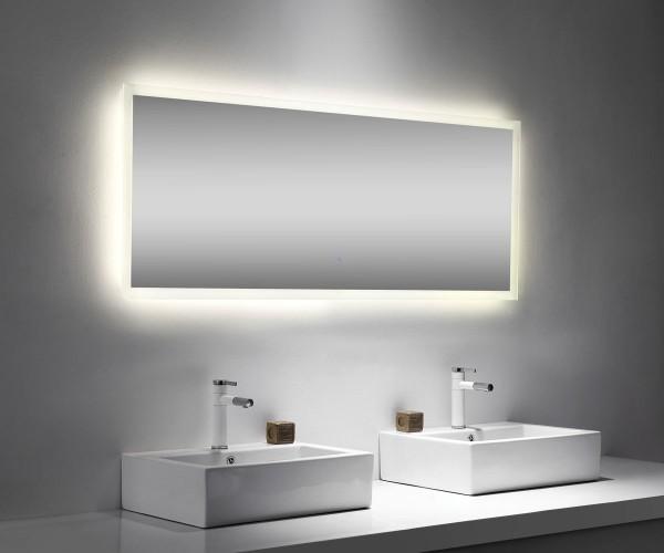 Lichtspiegel 160x65 cm mit Touch Bedienung und LED Beleuchtung