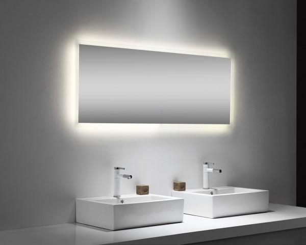 Hochwertiger Bad Lichtspiegel 150 cm breit 60 cm hoch mit Touch Bedienung