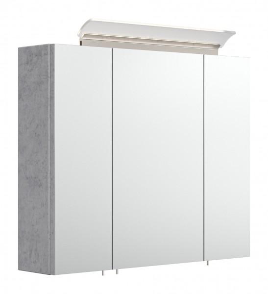 Spiegelschrank Badezimmer in Beton 75 cm Breite