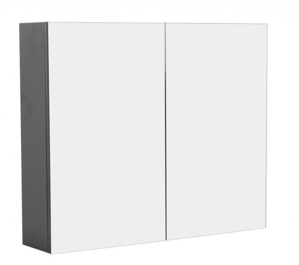Spiegelschrank Badezimmer anthrazit seidenglanz 75 cm