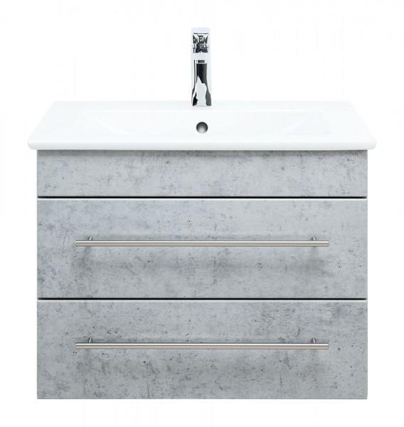 Villeroy und BOch Venticello Waschbecken mit Unterschrank 65 cm in Beton optik