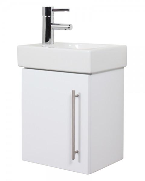 Unterschrank für Keramag Icon hochglanz weiss 38 cm für Gäste WC