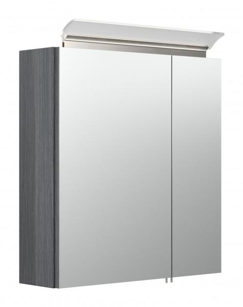 Spiegelschrank Bad gemasert 60 cm breit