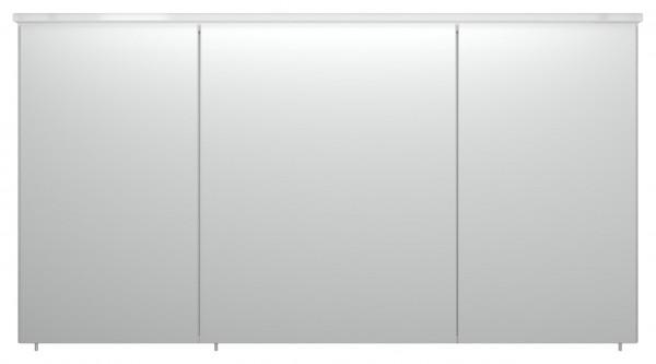 Allibert Spiegelschrank Hochglanz weiß mit Acryl Lampe 120 cm