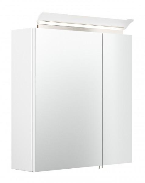 Bad Spiegelschrank weiß Hochglanz 60 cm breit