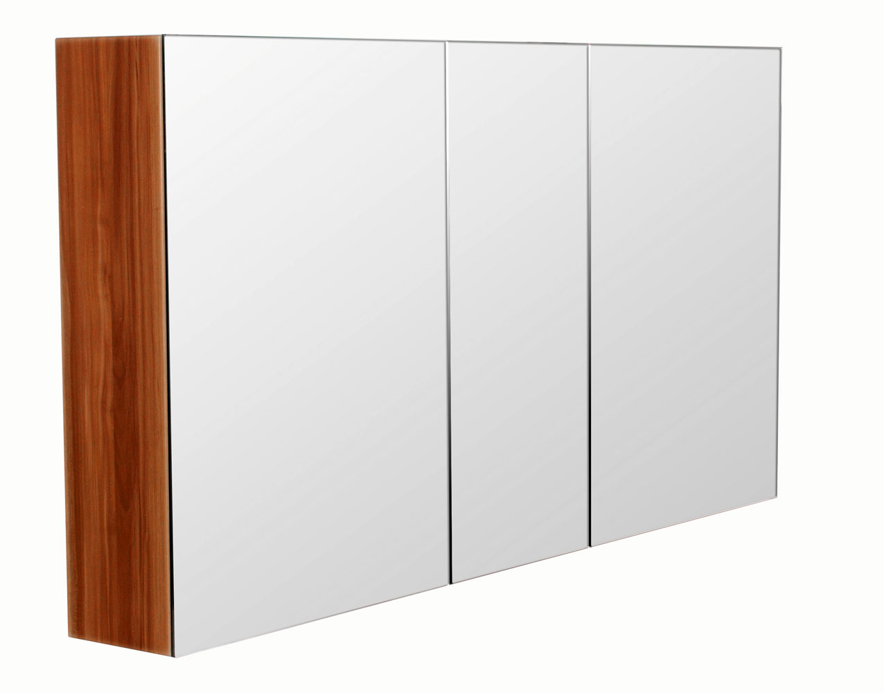 Bad Spiegelschrank 120 cm walnuss