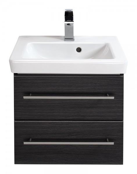 Waschbecken mit Unterschrank villeroy und Boch subway 2.0 gemasert 50 cm