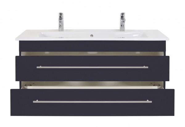 Design Waschtisch Unterschrank 120 cm für Doppelwaschbecken Venticello