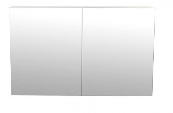 Bad Spiegelschrank 100 cm in Hochglanz weiss