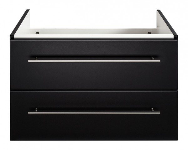 Waschtischunterschrank schwarz für Keramag Myday Waschbecken 65 cm