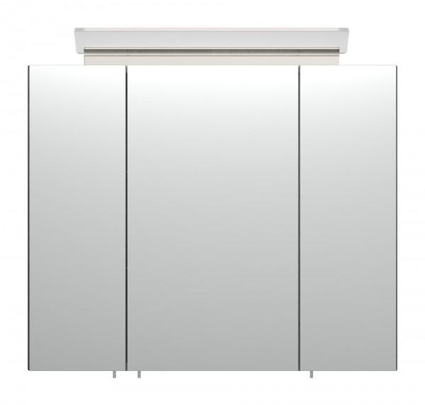 Badezimmer Spiegelschrank 75 cm gemasert