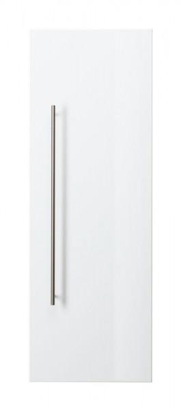 Design Bad Hochschrank in Hochglanz weiß 100 cm höhe