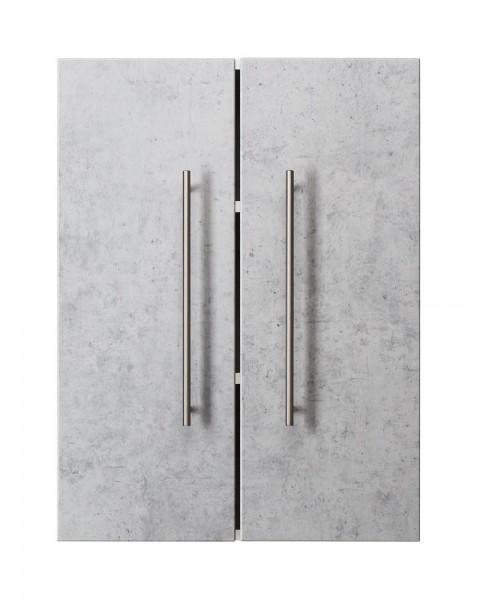 Hängeschrank Badezimmer Beton 70 cm höhe