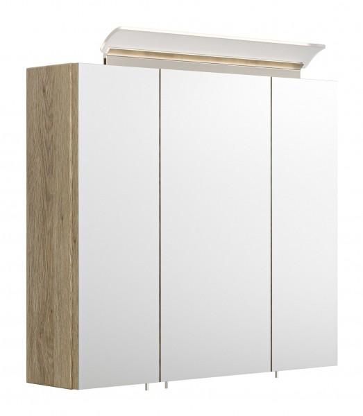 Bad Spiegelschrank eiche hell 70 cm