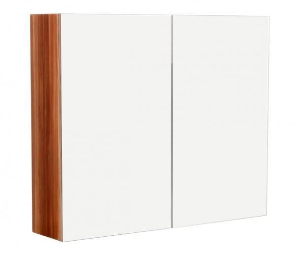 Spiegelschrank Bad 75 cm in walnuss